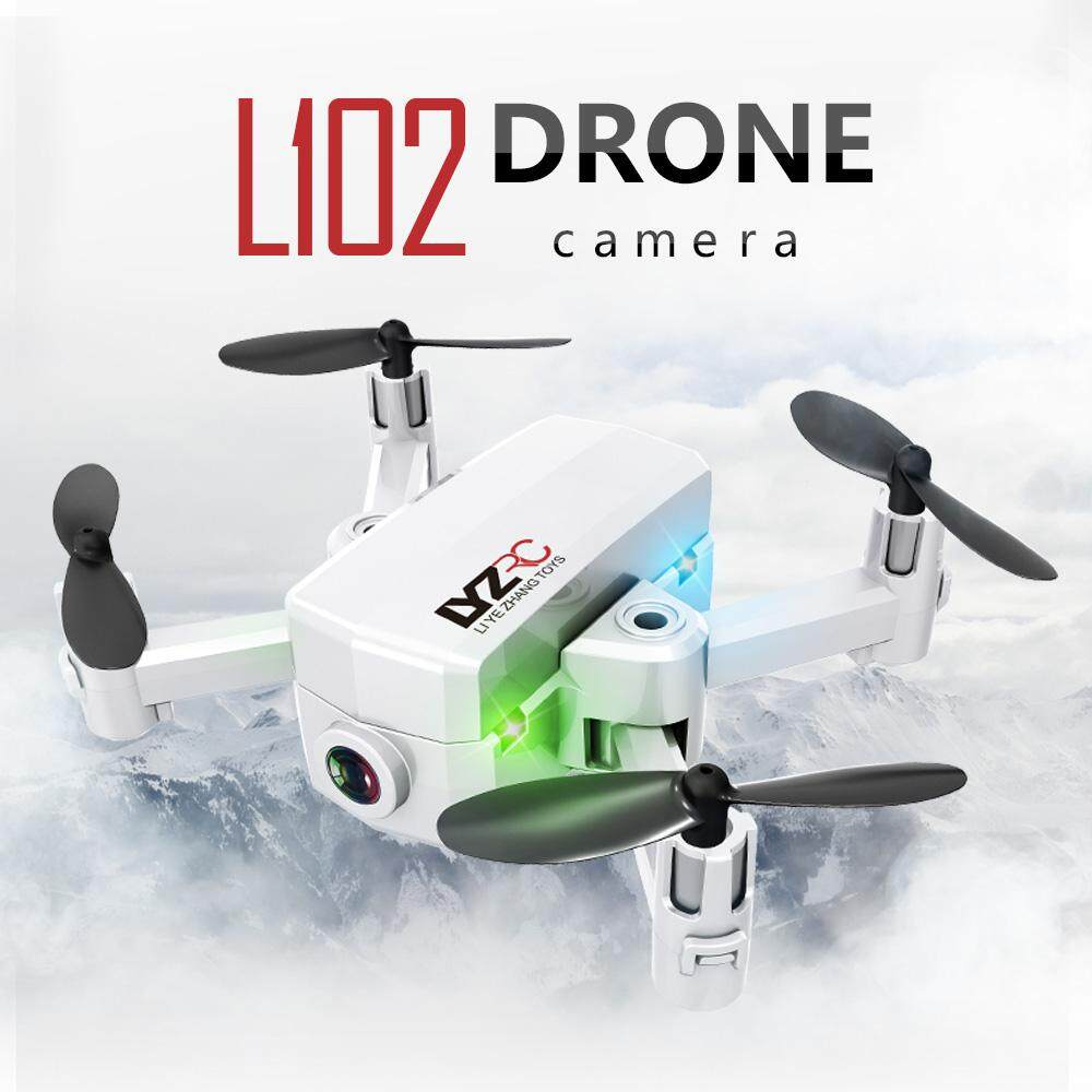 L102 Mini RC Drone with Camera 480P Wifi FPV Altitude Hold RC Quadcopter for Beginner Training Birthday Gift
