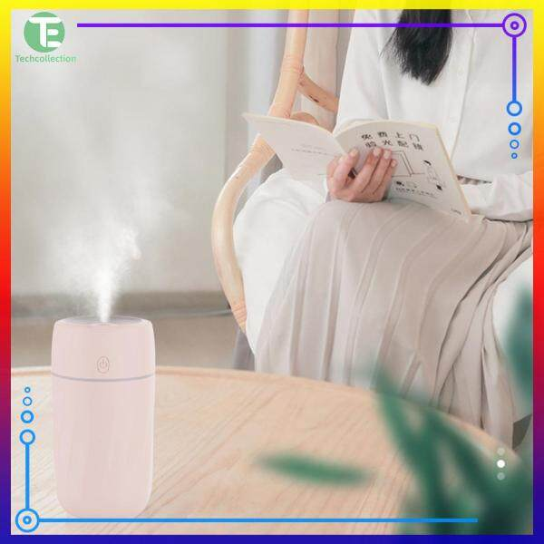 Air Humidifier Indoor Air-Conditioning Room Mini Nightlight Pink/White/Green Aroma Diffuser Singapore