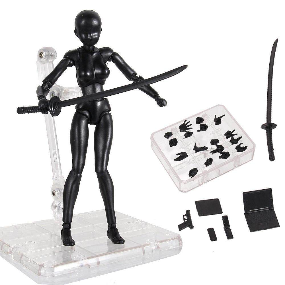 Body Chan & Kun Doll Male Female DX Set PVC Movebale Action Figure Model For SHF Gifts