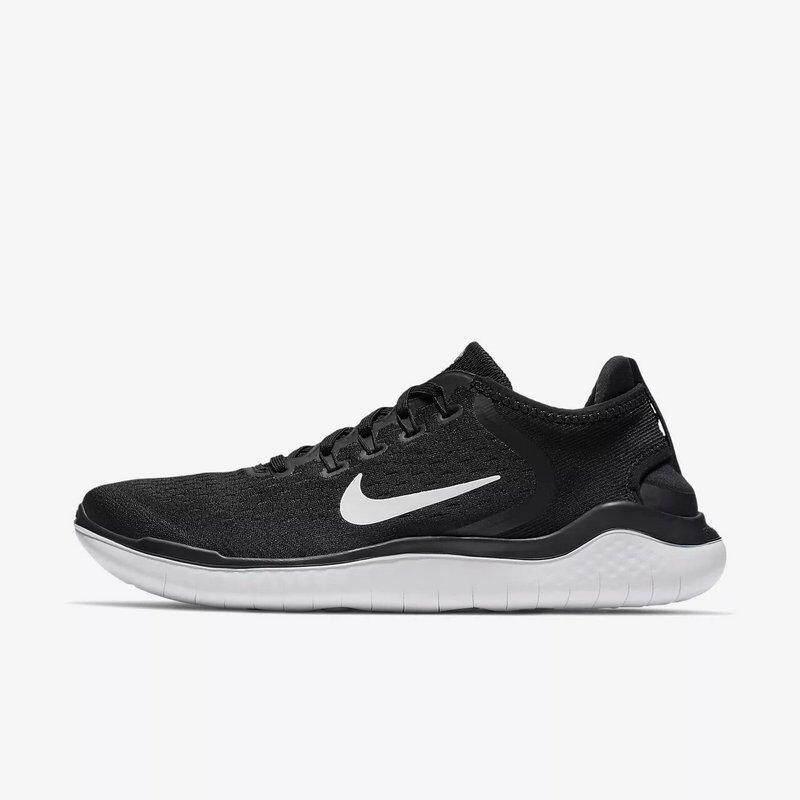 Nike GRATIS RN FLYKNIT 5.0 Pria dan Wanita Sepatu Lari Hitam Non-Slip  Ringan Bernapas c7cd4364c2