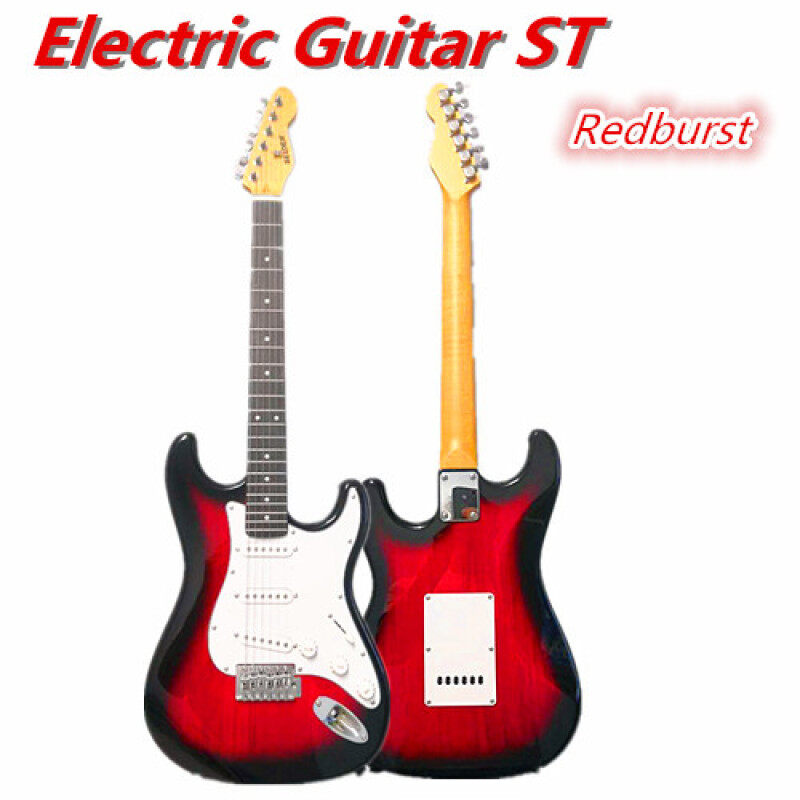 Electric Guitar Strat Basswood Body Rosewood Fingerboard ST Guitar Beginner Malaysia