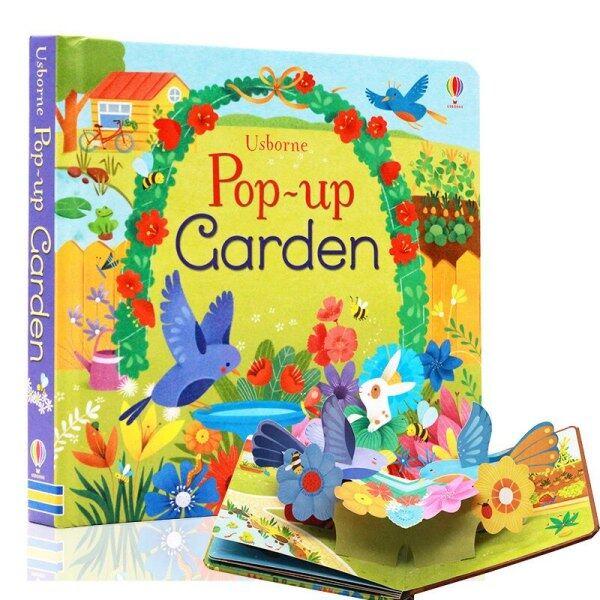 Sách Ảnh Lật 3D Bật Lên Vườn Tiếng Anh Giáo Dục Trẻ Em Trẻ Em Đọc Sách Cho Bé 3-6 Tuổi Livros Libros Sách Truyện Tranh