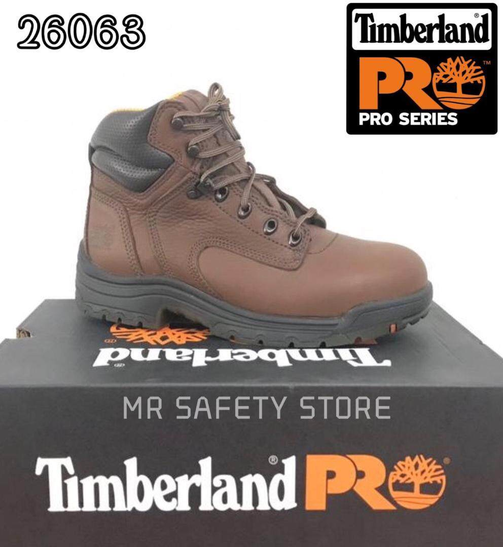 e6fc7fef594 Timberland PRO Boots Men's Brown 26063 Titan Safety Toe EH Work Boots