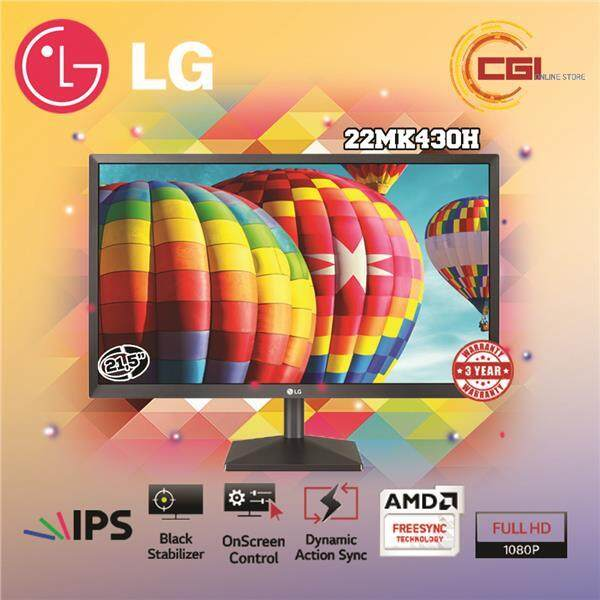 Lg 21.5 22mk430h Full Hd Ips Led Monitor By Cgi Online Store.