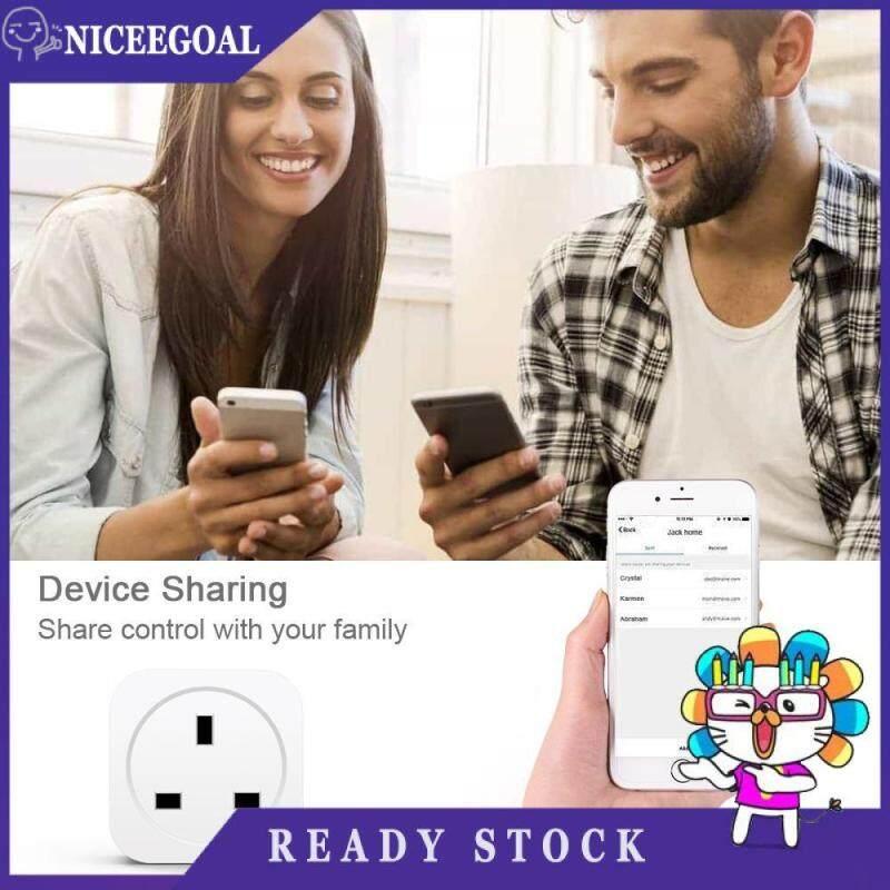 13A Intelligent Wifi Smart Timer UK Plug Socket Outlet Amazon Alexa Google