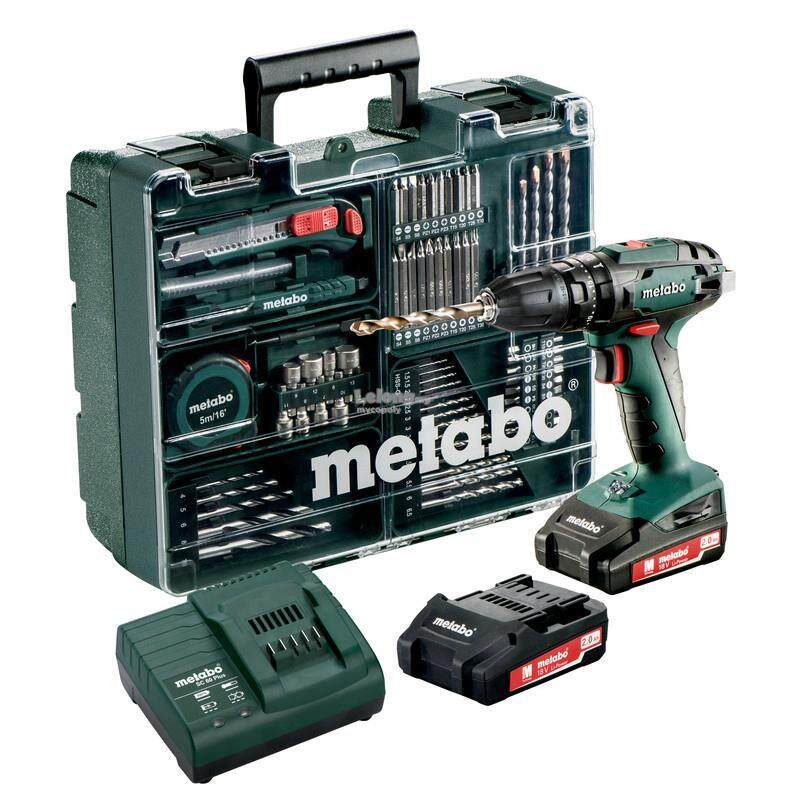 Metabo Sb18 L (602317500) Cordless Hammer Drill By Silverwell Trading.