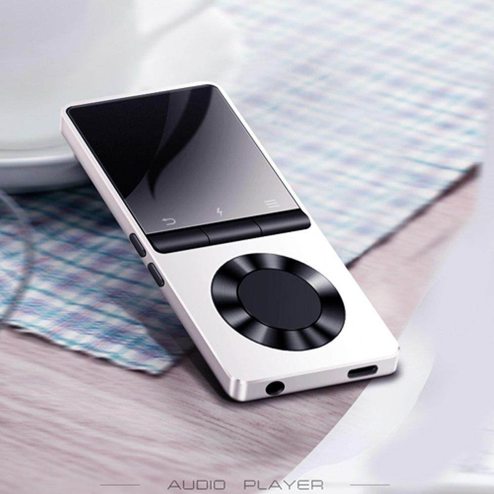 BENJIE X3 Metal Bluetooth MP3 Player Portable Audio 4GB 8GB Music Player with Built-in