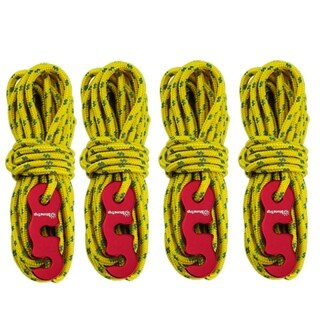 ShineTrip Adjustable Wind Rope High-Strength Multifunctional Reflective Rope with S-Ring Hooks Tent Accessories for Camping Hiking Backpacks Camping thumbnail