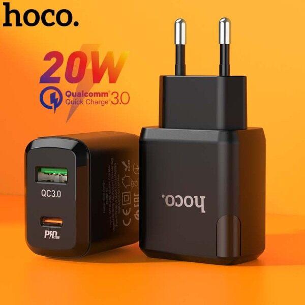 Sạc HOCO PD20W USB C PD, Sạc Nhanh 3.0 Dành Cho iPhone 12 Pro Bộ Sạc Mxa XS Macbook iPad QC 3.0 USB Type C & Micro Usb 18W Dành Cho Huawei Xiao MI Bộ Sạc Đa Năng