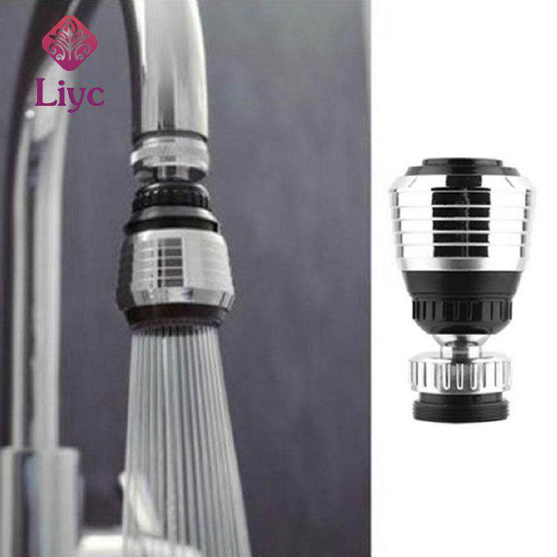 Liyc 360 Rotate Kitchen Faucet Aerator Water Diffuser Bubbler Zinc alloy shell Water Saving Filter Shower Head Nozzle Tap Connector Swivel Faucet Nozzle bathroom filter