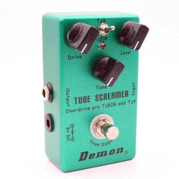 MOSKY Demon TS808 Tube Screamer Overdrive Pro Vintage Electric Guitar Effect Pedal Malaysia