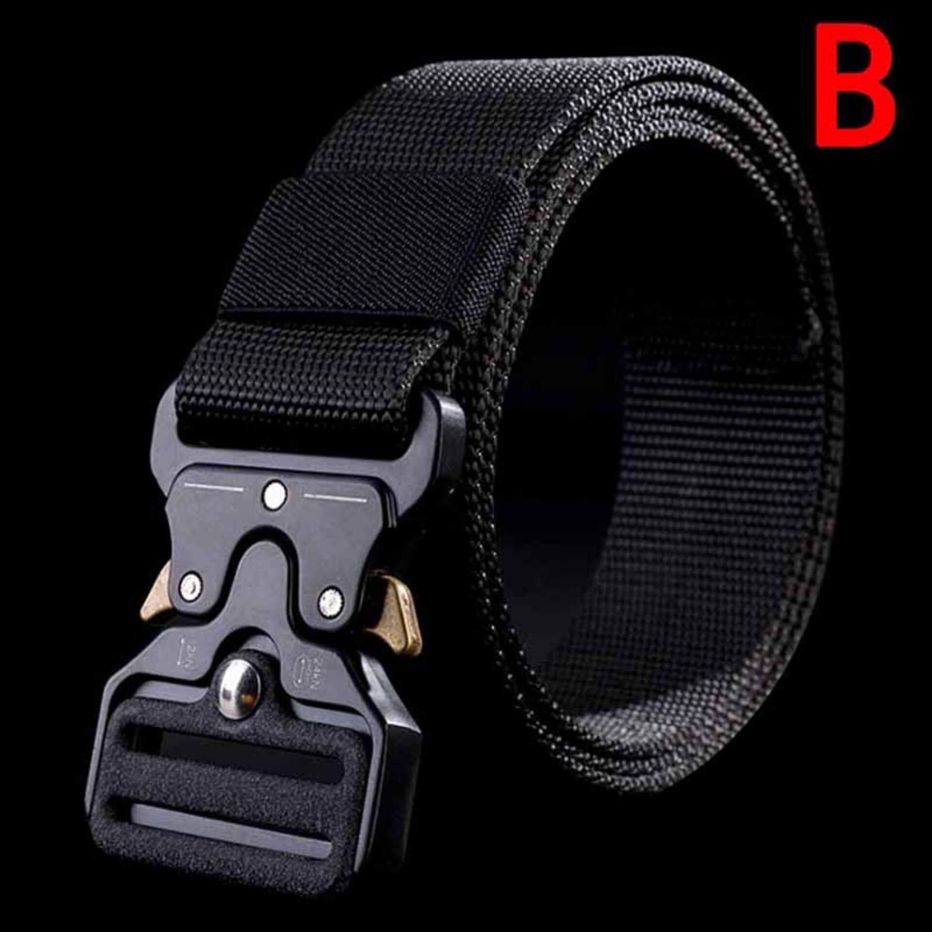 Men's Belt Quick Release Buckle Outdoor Safety Belt Tactical Belt Training Belt Greenwind