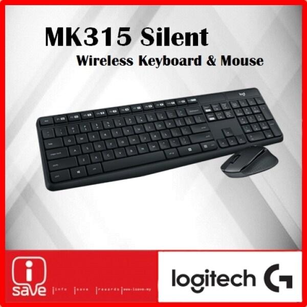 Logitech MK315 Quiet Wireless Keyboard And Mouse Combo Malaysia