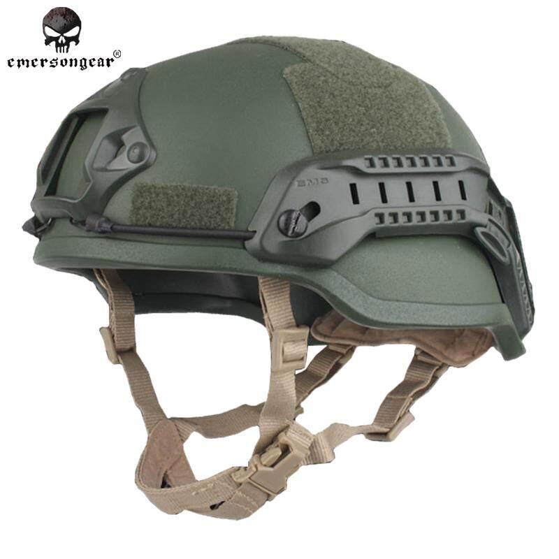Emerson Tactical Ach Helmet Special Action MICH 2002 CS Game Wargame Protective Helmet EM8980