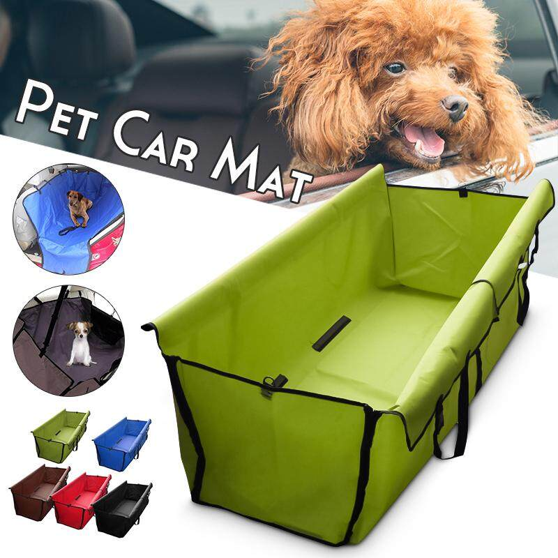 【free Shipping + Flash Deal】pet Dog Cat Car Rear Back Seat Waterproof Cover Mat Protector Hammock Cushion By Audew.