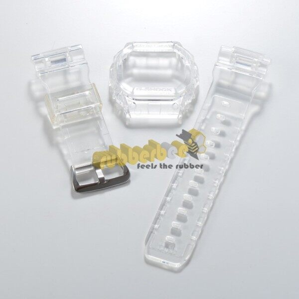 [RBB] DW-5600 BNB JELLY CLEAR BAND AND BEZEL Malaysia