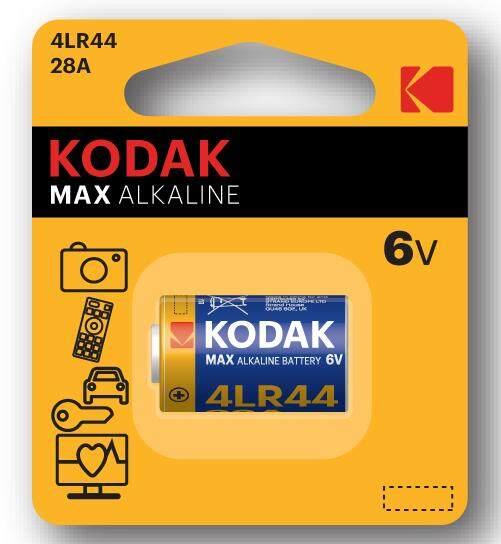 Genuine KODAK MAX 28A (4LR44) Super Alkaline Battery 6V Malaysia