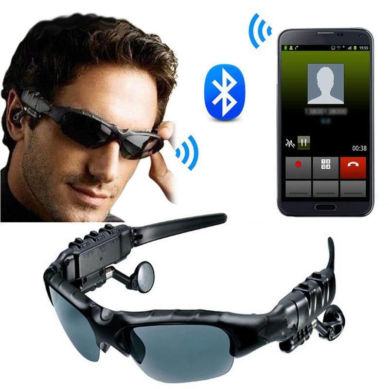 Giá Bluetooth Phân Cực Đi Kính Mát Ngoài Trời Kính Có Micro Bluetooth Tai Nghe Nhạc Stereo Kính Tai Nghe Không Dây