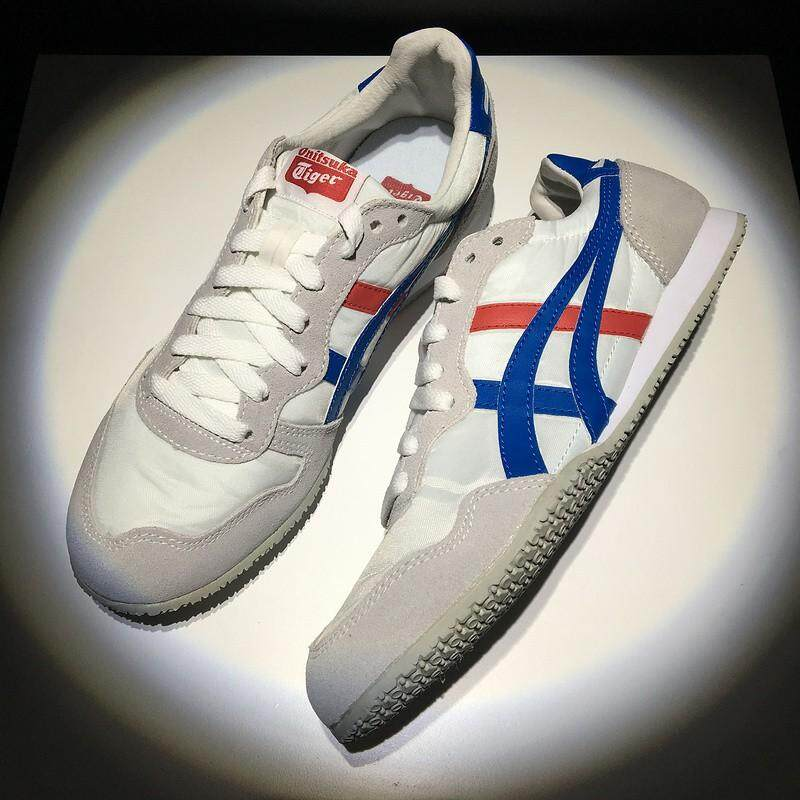 asics_Onitsuka_Tiger_鬼冢虎_SERRANO_white_red_blue_mens_womens_sport_low_top_shoes