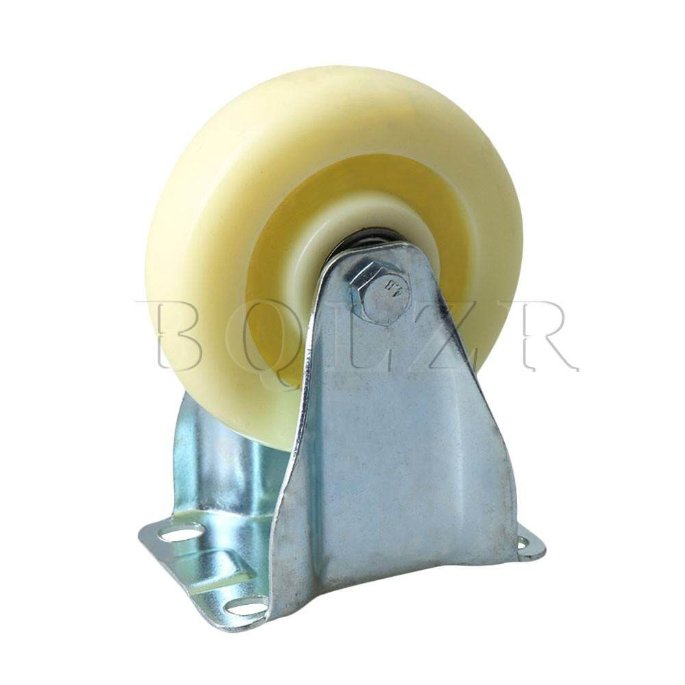Metal Singe Axis Wheel Directional Caster for Flatbed Truck Car Trolley Beige