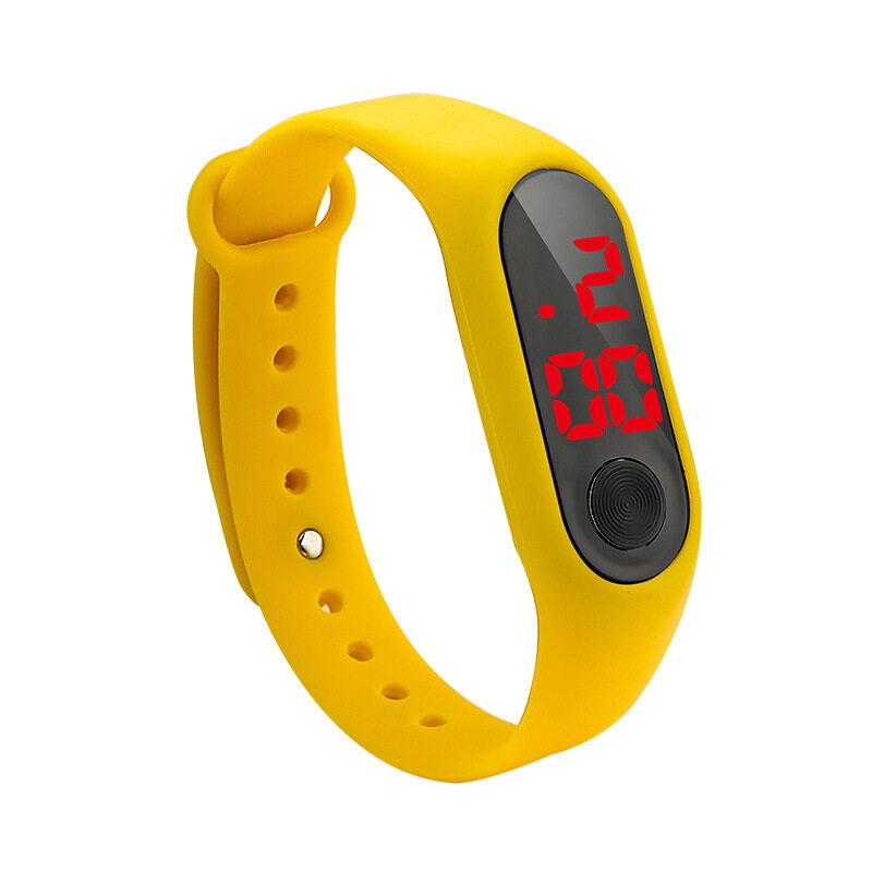 Nơi bán Đồng hồ LED cho trẻ em, xu hướng thời trang điện tử cho học sinh trẻ em, đồng hồ đeo tay đôi, chống nước, thời gian chờ dài