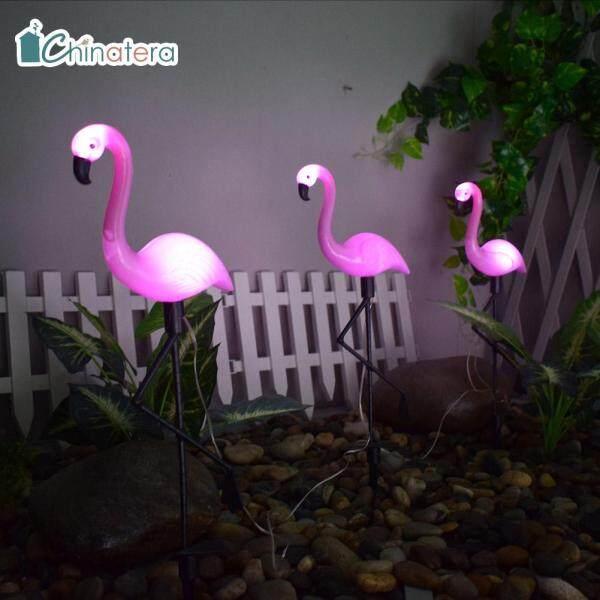 [Chinatera] 3 Chiếc Đèn LED Năng Lượng Mặt Trời Đèn Hồng Hạc Điều Khiển Cảm Biến Đèn Thảm Cỏ Cho Đường Dẫn Trong Vườn Ngoài Trời Đường Phố Trang Trí Chiếu Sáng