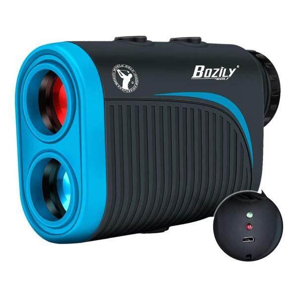 6x Bằng Một Mắt Golf Rangefinder LCD Hiển Thị Kỹ Thuật Số Độ Chính Xác Đồng Hồ Đo Khoảng Cách