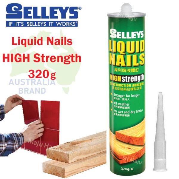 MAJU Selleys Liquid Nails 320g High Strength Mosaic Tile Wood Glue Home Adhesive
