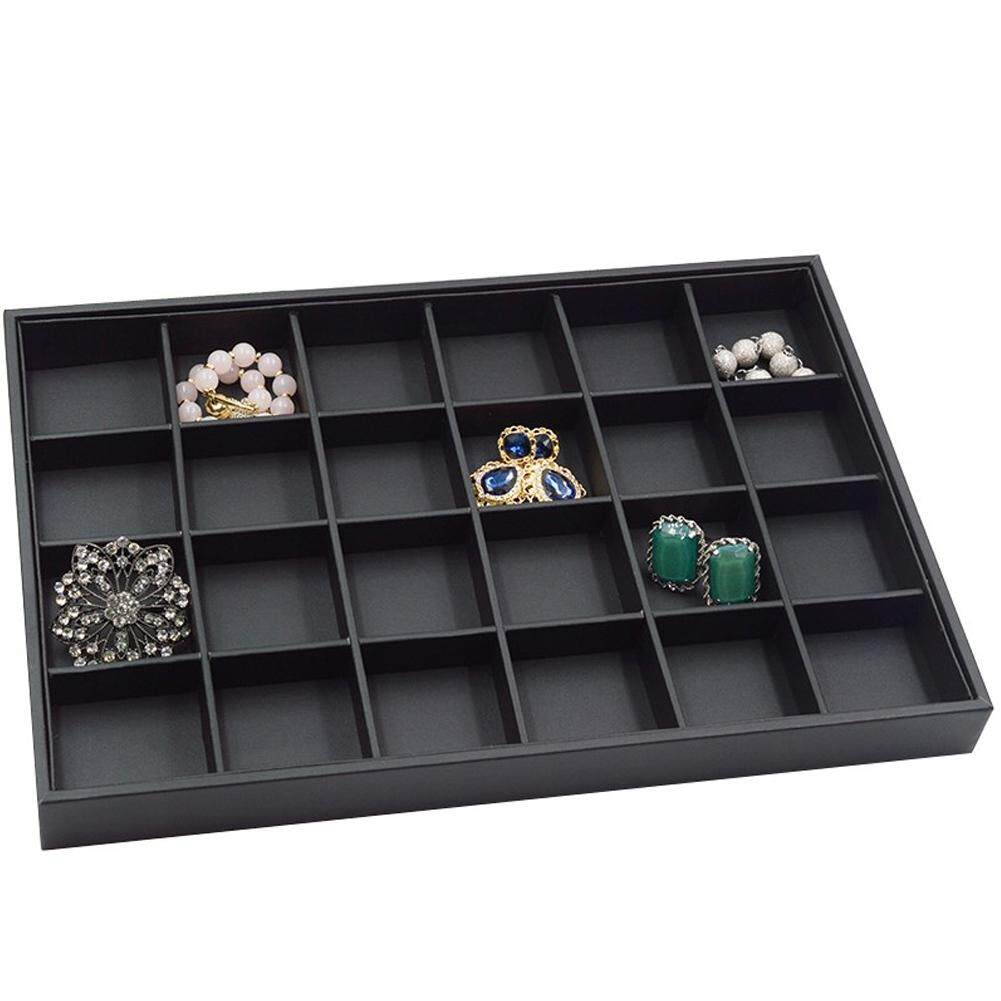 26b840353 Sample Storage Bracelet Home Display Ring Earring Shop PU Leather Jewellery  Organiser