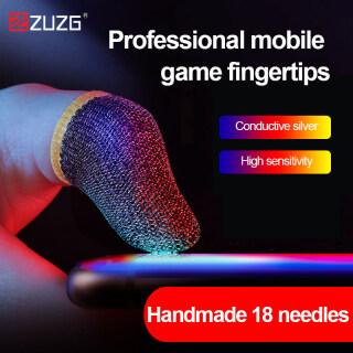 ZUZG Bọc Ngón Tay Chơi Game, Sweatproof, Thoáng Khí Dành Cho Màn Hình Trò Chơi Di Động PUBG Cảm Ứng Nhạy Cảm Phụ Kiện Cho Game Pro thumbnail