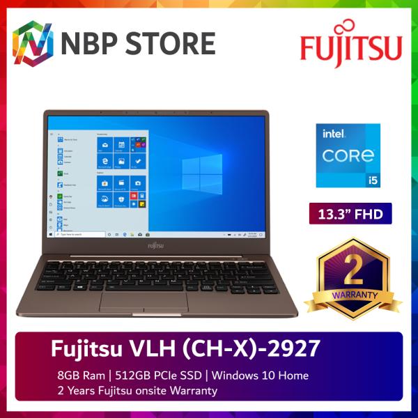 Fujitsu VLH (CH-X)-2927 13.3 FHD Laptop Mocha Brown ( i5-1135G7, 8GB, 512GB SSD, Intel, W10 ) Malaysia