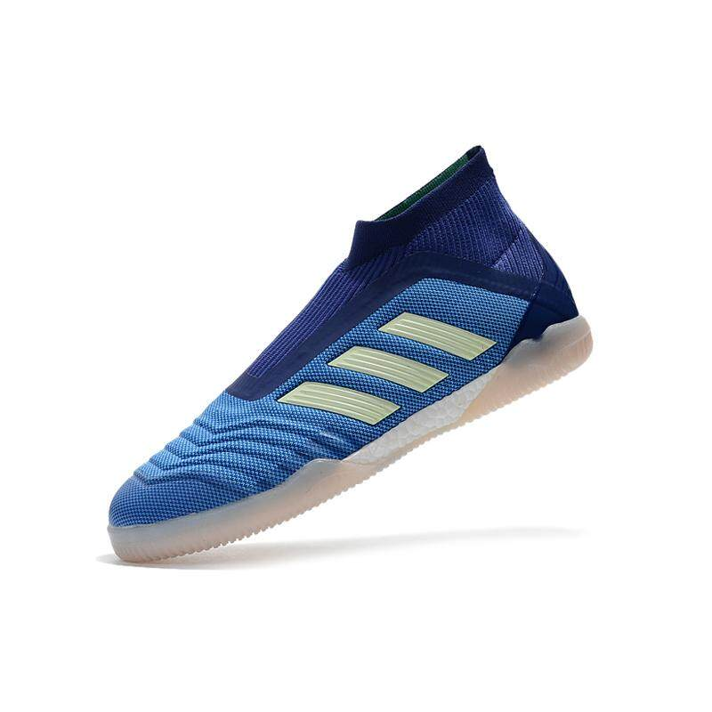 8686313b8 New High Ankle Men s Indoor Soccer Shoes PP Full Knitting Boost Football  Boots Falcon Tango 18