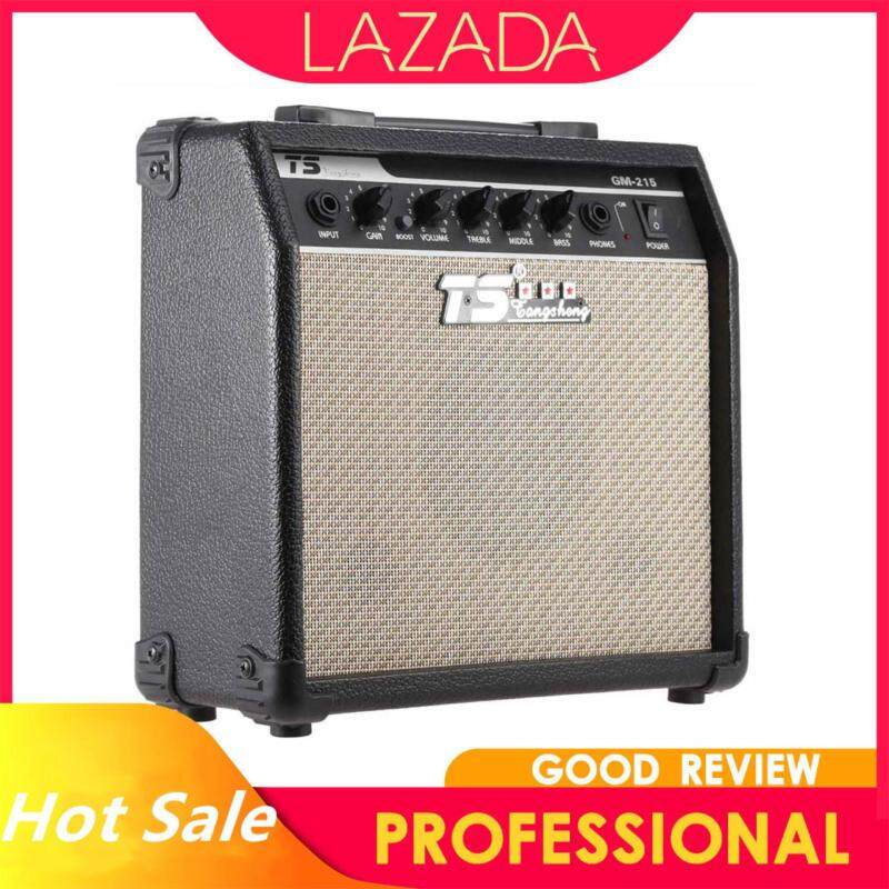 GM-215 Professional 15W Electric Guitar Amplifier Amp Distortion with 3-Band EQ 5 Speaker Malaysia