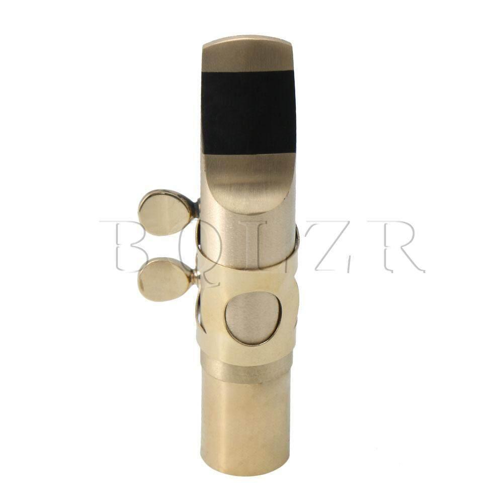 6  Alto แซ็กโซโฟนส่วนทองเหลืองปากเป่าแซกโซโฟน + ตัวยึดเส้นรอบวงเครื่องประดับ Diy By Dsltd.