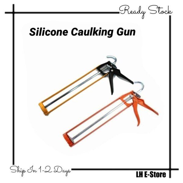 Silicone Caulking Gun for Cartridge Caulk Tool Pressing Inject Silicone Sealant Alat Tembak Silicon Gun 胶枪