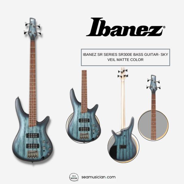 IBANEZ SR SERIES SR300E BASS GUITAR- SKY VEIL MATTE COLOR (SR300/ STANDARD SR/ NYATOH BODY) Malaysia