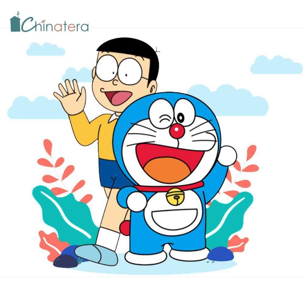 Tranh 5D Tự Làm Hình Tròn Đính Kim Cương Tranh Hoạt Hình Nhật Bản Doraemon  Nobita Những Người Bạn Tốt Tranh Khảm Kim Cương Giả Trang Trí Tường Thủ  Công Chinatera