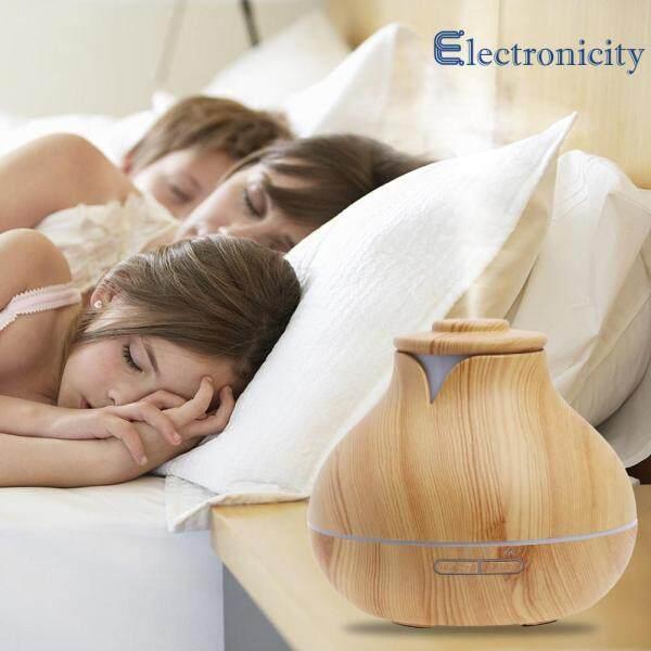 400ml Essential Oil Diffuser Grain Wood Ultrasonic Aroma Cool Mist Humidifi Singapore