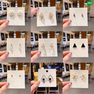 Bông Tai Thời Trang ACC, Trang Sức Khuyên Tai Nữ Pha Lê Ngọc Trai Hàn Quốc thumbnail