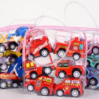 Mododo 6 Cái gói Mini Xe Ô Tô, Mô Hình Xe Kéo Lùi Đồ Chơi Cho Trẻ Em, Phong Cách Hoạt Hình Quà Tặng Đẹp Bằng Nhựa Đồ Chơi Xe Kéo Giáo Dục Trẻ Em thumbnail