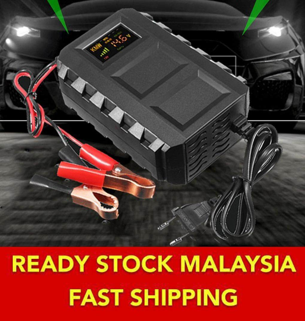 Pengecas Baterry Lori,bas,kereta,motocycle) Intelligent Smart 12v 20a Car Lead Acid Car Battery Charger By Anekaseller.