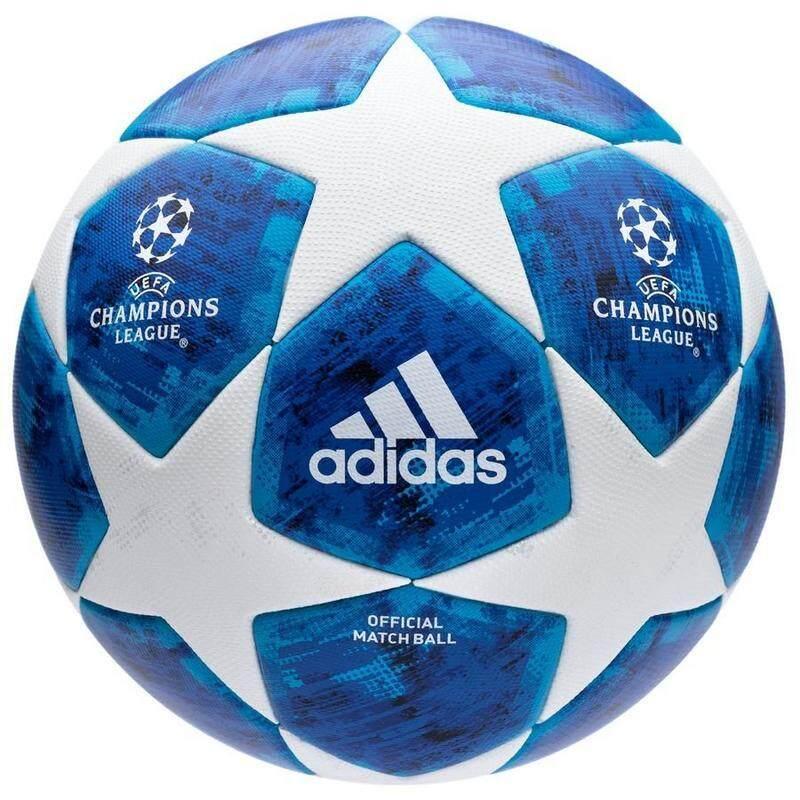 Adida s Football Champions League 2018 Match Ball - White Blue ec84ff3b15abe