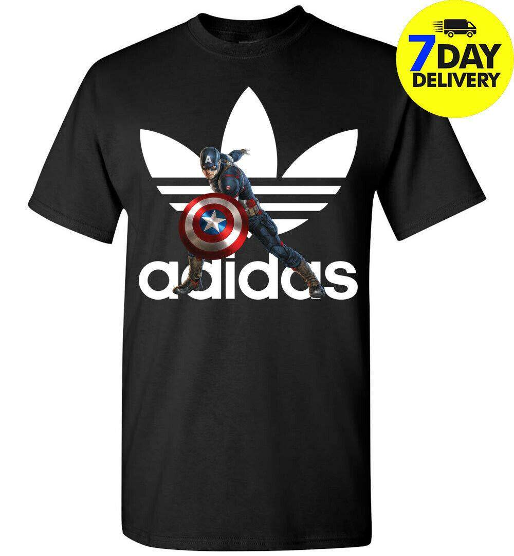 Captain America T-Shirt,Capt/'s Gym Spoof,Marvel Comics,Adult and kids Sizes
