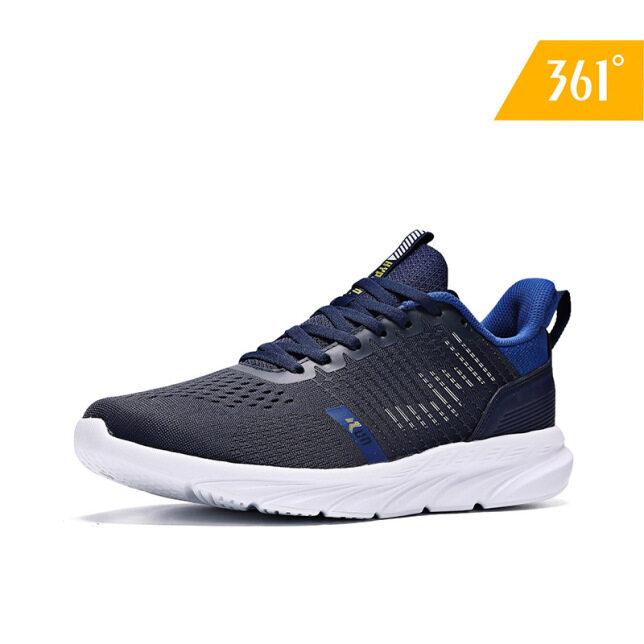 Giày thể thao nam 361 độ, đệm khí, trọng lượng nhẹ, lưới thoáng khí, dành cho nam-672012224 giá rẻ