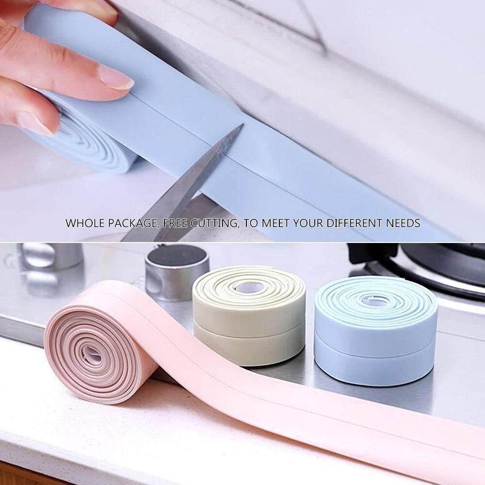 Bathtub Caulk Strip Tub and Wall Sealing Tape Caulk Sealer PE Self Adhesive 3.2M