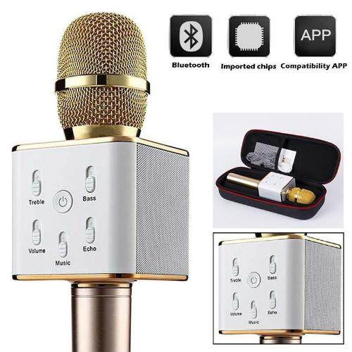 Karaoke Ktv Mic Wireless Bluetooth Speaker Microphone Sing Recording K068 / K088 / Q7 / Q9 By Eshoppe99.