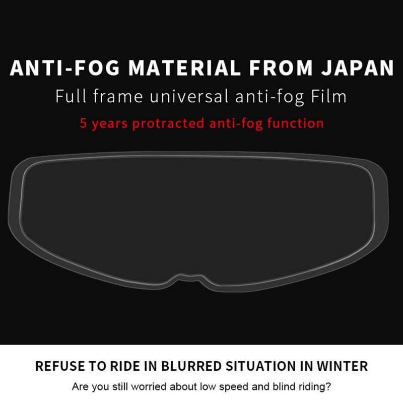 Mua Xe Máy Đội Mũ Bảo Hiểm, Chống Sương Mù Phim, Đầy Đủ Mũ Bảo Hiểm Ống Kính Chống Sương Mù Sticker Đội Mũ Bảo Hiểm Màng Chống Sương Mù Thông Thường