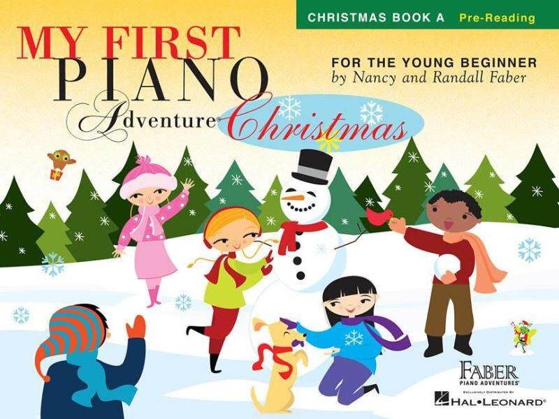 MY FIRST PIANO ADVENTURE® CHRISTMAS – BOOK A Pre-Reading Malaysia