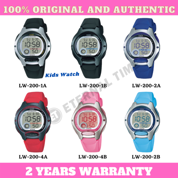 (2 YEARS WARRANTY) CASIO ORIGINAL LW-200 DIGITAL KIDS WATCH (LW-203) (WATCH FOR KID / JAM TANGAN BUDAK / JAM TANGAN KANAK / CASIO WATCH LADIES / WATCH FOR WOMEN / CASIO WATCH) Malaysia
