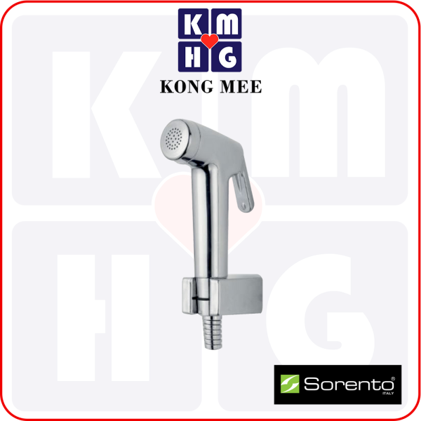 Sorento Italy - Carlina Series Bidet With Chrome Finishing | High Quality Shoot Water Spray Bathroom Washroom Washing Cleaning Toilet Home Living Hotel Fixtures Furniture Accessories Modern Luxury Premium